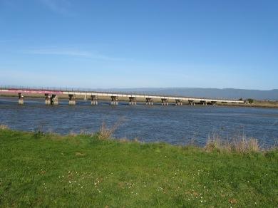 Eureka slough bridge